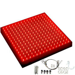Hqrp 225 Red Led Indoor Garden Hydroponic Plant Grow Light Panel 13.8 Watts