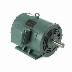 170009.60 25 Hp 1780 Rpm 3 Phase 284t Frame New Leeson Electric Motor