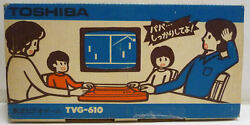 console toshiba video game tvg 610 pong
