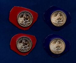 2013 P And D Bu Position A And B Sacagawea Native American Dollars Four Coins