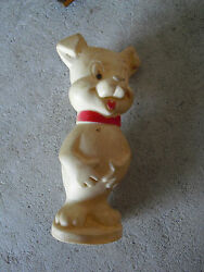 Vintage Vinyl Piggy Pig Squeeky Toy 4 1/4 Tall