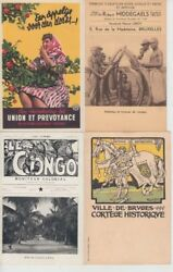 Advertising Belgium Companies 51 Vintage Postcards With Better