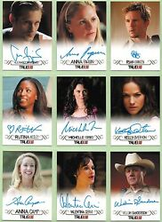 True Blood Archives Ultimate Master Card Set All Autograph Costume Promo Binder