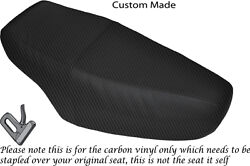 Carbon Fibre Vinyl Custom Fits Honda Nh 125 Lead Dual Seat Cover