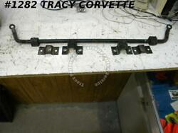 1953-1962 Corvette Front Stabilizer Sway Bar With Bushings And Clamps Original