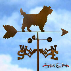 Hand Made Cairn Terrier Dog Weathervane *NEW*