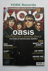Mojo Magazine - Issue 139 June 2005 - Oasis / Ozzy / Lee Perry / Arcade Fire