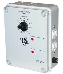 NEW C.A.P HUM-1 Hydroponic Climate Humidity Dehumidifier Controller w 2 Outlets