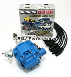 Sbf Ford 289 302 Hei Ignition Blue Cap Distributor And Moroso Race Wires 135