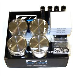 Cp Forged Pistons Sc7031 Honda H22a 87.50mm / 9.01 22mm Pin Prelude Accord
