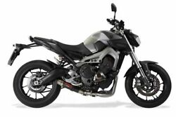 Yamaha Mt-09 Fz-09 2014-2016 Gpr Exhaust Full System W/ Deeptone Carbon Look Can