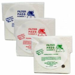 Buon Vino Mini Jet Filter Pads 1 2 Or 3 For Home Brew Wine Filtering Pad Choice