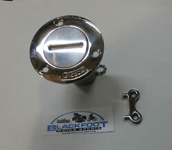 Marineboating Diesel Gas Cap Deck Fill Plate Cast 316 Stainless Steel 32261