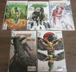 Brightest Day Dc Comics Lot Of 5 Issues Green Arrow Hawkman And More Comic2