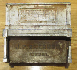 Sale, Price Cutorig Seeburg Nic. Plated Cast Iron Coin Box For Player Piano