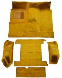 Carpet Kit For 1966-1973 Ford Bronco Full Size With 2 Gas Tank, Complete Kit