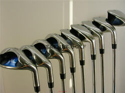 +4 Left Handed Extra Long Wide Xxl Big Tall Lh Huge Iron Set Giant Xl Golf Clubs