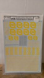 Micro Scale Decals Ho Scale 87-140 Fec Modern Hoods And Cabs