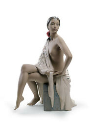 Lladro 12536 Nude With Shawl Woman Brand New In Box Gres Large Elegant Save Fs
