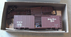 Vintage Ho Scale Accurate Finishing Inc Nkp 7259 Box Car Kit In Box