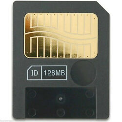 128mb Meg Smart Media Flash Memory Card For Cameras Korg Yamaha Roland Electribe