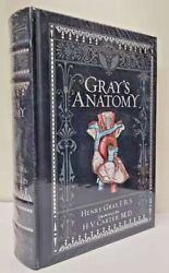 Gray's Anatomy By Henry Gray Collectible Illustrated New Sealed Leatherbound