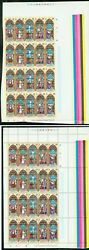 Anguilla 1972 Easter Stained Glass Windows PROOF PANES