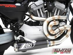 Harley Davidson Xr 1200 Zard Exhaust Full System And Carbon Silencer