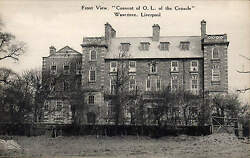 Wavertree Liverpool. Convent Of Our Lady Of The Cenacle. Front View.