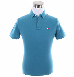 Men Short Sleeve Solid Rugby Custom Fit Pique Polo Shirt -0 Ship
