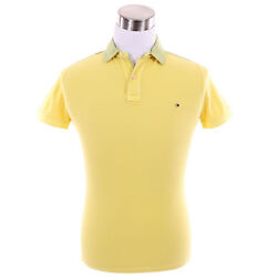 Men Short Sleeve Solid Rugby Polo Shirt - New York Fit - 0 Ship