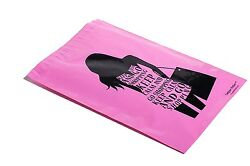 1000 10x13 GO SHOPPING Designer Mailers Poly Shipping Envelopes Boutique Bags