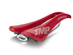 Selle Smp Evolution Bicycle Saddle Seat - Red . . . Made In Italy