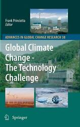 Global Climate Change - The Technology Challenge (English) Hardcover Book Free S