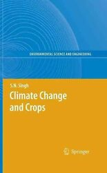 Climate Change and Crops (English) Hardcover Book Free Shipping!