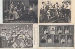 Music Orchestra Bands Entertainers 52 Vintage Postcards Mostly Pre-1940