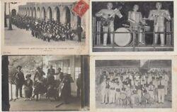 Music Orchestra Bands Entertainers 72 Vintage Postcards Mostly Pre-1940