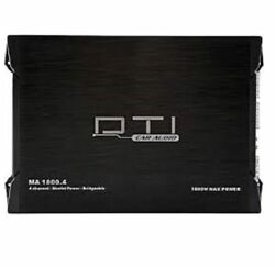 Dti Ma1800.4 4-channel 1800 Watts Class Ab Car Stereo Mosfet Amplifier