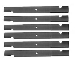 6 Scag Commercial 72 Compatible Lawn Mower Blades 91-627 Replace 48112
