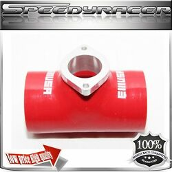 Emusa Bov Silicone Adapter For Greddy Type-s Turbo Blow Off Valve Bov 2.5 Red