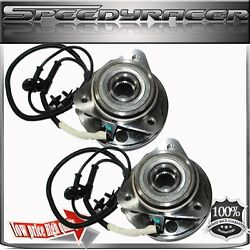 1 Pair Front Wheel Hub Bearing Assembly 95-01 Mercury Mountainer 4wd 5 Stud