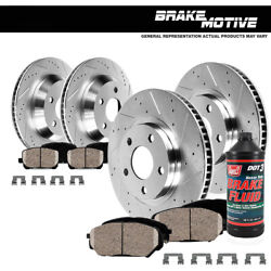 FrontRear Brake Rotors Ceramic Pads For 2006 2007 2008 2017 Dodge Ram 1500 $177.51