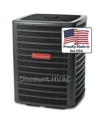 5 ton 2-stage 18 SEER Goodman central air condition AC unit Condenser DSXC180601