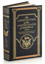 THE CONSTITUTION OF THE UNITED STATES OF AMERICA amp; WRITINGS LeatherBound SEALED $39.63