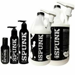 Spunk Lube Hybrid Water And Silicone Based Personal Jizz Cum Lubricant - Pick Size