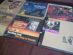 Nat King Cole The King Of Sound Collection With 6 Audiophile Titles And Bonus Cds