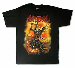 Avenged Sevenfold The Victor Black Band T Shirt New Official Adult