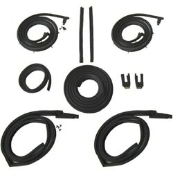 Body Weatherstrip Kit Compatible With 1963-1964 Cadillac Deville Hardtops