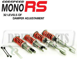 For Nissan 350Z Z33 03-09 Godspeed MRS1550-A MonoRS Damper Coilovers Suspension