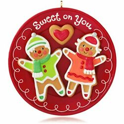 Hallmark 2014 Sweet on You Gingerbread Cookie Ornament